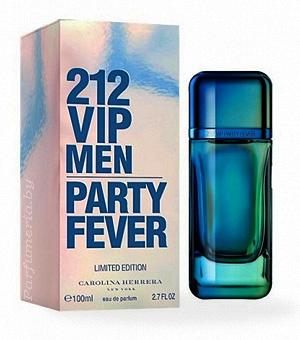Туалетная вода CAROLINA HERRERA 212 VIP Party Fever Men