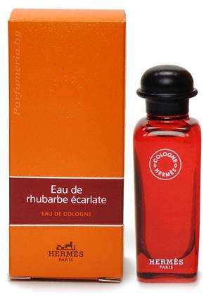 Eau De Rhubarbe Ecarlate Eau De Cologne Hermes парфюмерия и