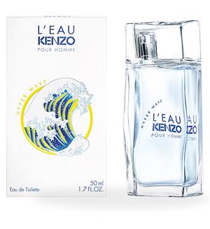 Туалетная вода KENZO Туалетная вода L'eau Kenzo Hyper Wave Pour Homme