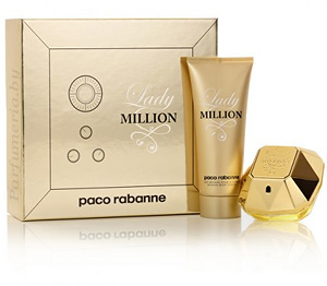 Набор женский PACO RABANNE Lady Million Set