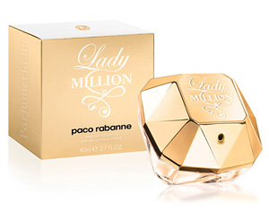 Парфюмированная вода Paco Rabanne Lady Million Lady Million