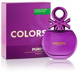Туалетная вода BENETTON Colors de Benetton Purple