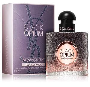 Black Opium Floral Shock Yves Saint Laurent парфюмерия и