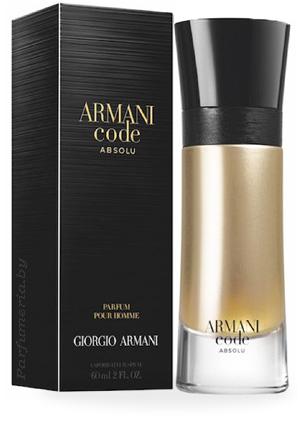 Парфюмерная вода GIORGIO ARMANI Armani Code Absolu Pour Homme